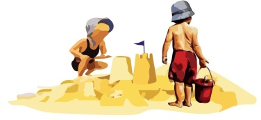 sandcastle-and-kids